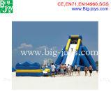 Grande glissière gonflable de stationnement de l'eau à vendre (BJ-HP02)