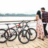 26 '' Bicicleta barata para venda Beach Cruiser Triciclo adulto Mountain Bike Shaft Drive Bicicleta Inner 3-Speed