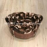 ペットアクセサリデザイン猫のソファーベッド贅沢な犬の寝具