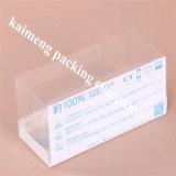 Disegno di plastica della scatola pieghevole dell'imballaggio dell'animale domestico della radura del rifornimento della Cina (contenitore di imballaggio di plastica)