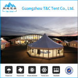 De Hexagonale Tent van uitstekende kwaliteit van het Huwelijk met de Muur van het Glas voor Gebeurtenissen