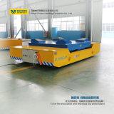 Tabella di sollevamento idraulica del materiale della costruzione di nave del carrello elettrico di maneggio