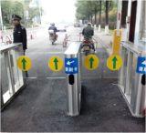 機密保護のエントリ制御システムのための歩行者の速度ゲート
