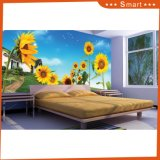 Der Garten Sonnenblume-des wundervollen Landschaft-Entwurfs-Ölgemäldes für Hauptdekoration