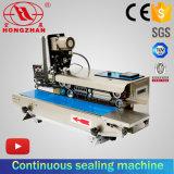 Máquina continua del lacre de la bolsa de plástico con la impresora de cinta de la cinta