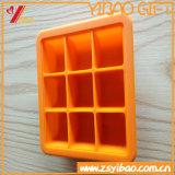 Venda quente bandeja personalizada do cubo de gelo do silicone