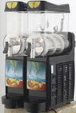 Machine noire de neige fondue avec 2 cuvettes (CE)