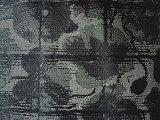 A baixa seda Blenched a tela da verificação do jacquard