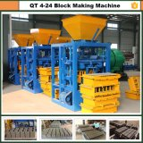 Macchina per fabbricare i mattoni, macchina concreta del mattone, macchina del blocco