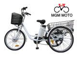 Трицикл Cheao Elecrtric велосипеда колес En15194 3 электрический