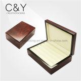 Коробка хранения кольца Jewellery лака высокого лоска деревянная