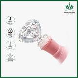 rosafarbenes Rohr-einfrierbares Ring-Rohrweed-rauchendes Wasser-Rohr des Becher-10inch