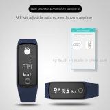 Bouton tactile portable NFC Bracelet Smart HB06 avec la pression artérielle