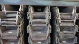 Mucchio di strato di profilo di m. 900X400 coniato a freddo