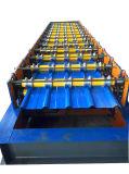 Neues gewölbtes Metallstahldach-Panel-Rolle, die Maschine bildet