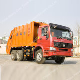 SinoトラックHOWO 18m3 6X4の大きい圧縮かコンパクターのごみ収集車