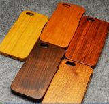 高品質のiPhoneのための自然な木製の電話箱5 6