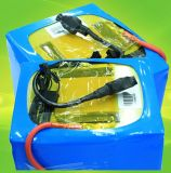Paquete de la batería de litio de la batería de coche eléctrico LiFePO4 Lipo 12V 24V 36V 48V 72V 20ah 40ah 60ah 80ah 100ah para el carro de golf eléctrico de la E-Vespa de la bici