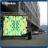 Alquiler grande a todo color al aire libre de la pantalla del LED