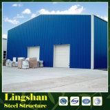 Gruppo di lavoro/magazzino prefabbricati della costruzione della struttura d'acciaio/liberato di