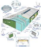 Конструкция мастерской стальной структуры (KXD-SSW1064)