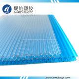 hoja del panal del policarbonato de 8m m 10m m para el material para techos de la casa