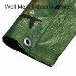 Средней мощности зеленой маскировочной мешок из полимера