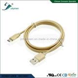 C-Mann USB2.0 a/M zum beweglichen Kabel mit Matel Kopf-und Goldflechte schreiben