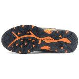 Zapato de trabajo ligero de cuero del estilo del deporte de Nubulk del diseño de la manera