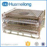 Speicherlogistischer Lager-Haustier-Vorformling-Maschendraht-Behälter