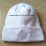 Alta calidad OEM sombrero Knitting Factory Jacquard bordó el casquillo del sombrero