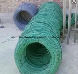 Fil galvanisé enduit par PVC de la Chine pour la construction