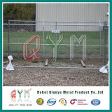 Omheining van de Link van de Keten van de Link van de Ketting van de Fabriek van China de Tijdelijke Fence/PVC Met een laag bedekte