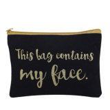 カスタムプリント装飾的な袋の小さいキャンバスのジッパー袋
