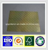 銀ぱくのペーパーまたはAluホイルのスクリムのクラフト紙か補強された薄板にされたアルミホイルのペーパー