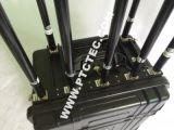 7Jammer portátil de alta potência com bandas de bloqueador de sinal de novo em 2015