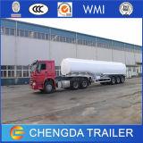 Remorque à camion citerne spécial pour véhicule 60m3 à 4 essieux