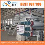 Maquinaria plástica de la producción del estirador de hoja del mármol del Faux del PVC