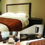 2016 Kingsize贅沢な中国の木のレストランのホテルの寝室の家具(GLB-4000801)