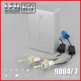 Auto farol 4800lm 9004 do carro 9007 bulbos do farol do diodo emissor de luz do CREE de H4 R3 com Xhp 50 microplaquetas para o carro
