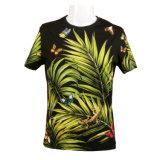 Imprimé en gros Hawaiian Men's à manches courtes Tee-shirt en coton