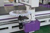Máquina del ranurador del CNC del Atc con el cortador oscilante del cuchillo para Carbinet