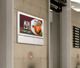 21-дюймовый дисплей медиальная плеер Digital Signage для рекламы элеватора