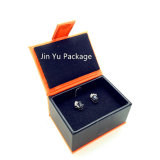 Jy-Jb85イヤリング/Ringのためのカスタムペーパー革宝石類の荷箱