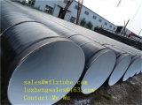1219 * 7.75mm Tamanho API 5L Psl2 X42 X52 Tubo de aço soldado em espiral, Gr. B LSAW Linepipe