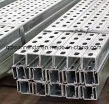 Canal de aço galvanizado em aço trançado