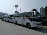 7.5 metros Dobles puertas 29 Asientos Autobús de la ciudad con el motor de Cummins (frente)