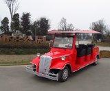 Un'automobile classica elettrica a pile delle 8 sedi