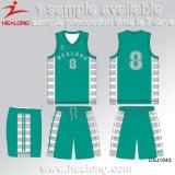 Cualquier logotipo sublimación baratas del baloncesto uniformes conjuntos
