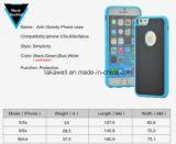Cas de téléphone de pesanteur en gros de PC + de TPU de la Chine anti pour la couverture mobile de l'iPhone 6/6s